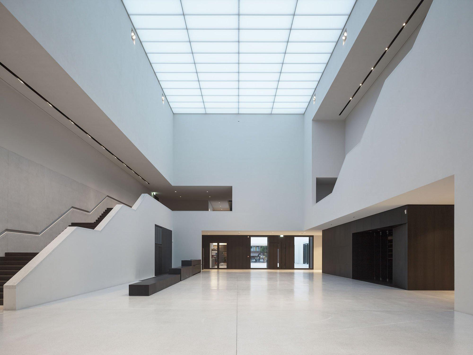 Foyer Museum : Lwl museum für kunst und kultur in münster elektro