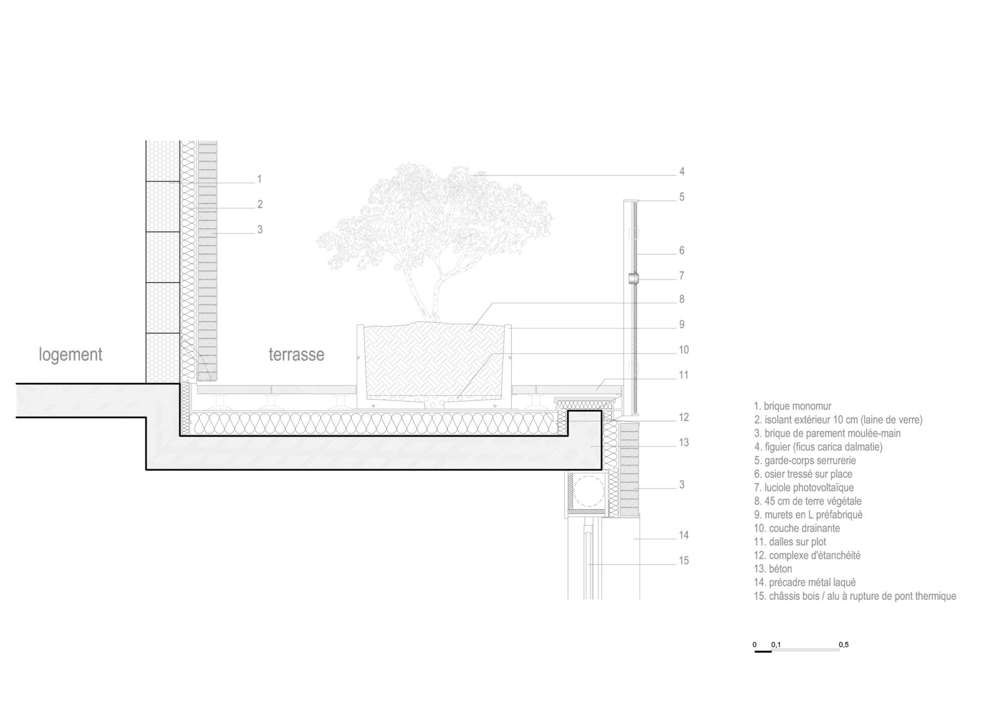 wohnblock le candide in vitry sur seine mauerwerk wohnen mfh baunetz wissen. Black Bedroom Furniture Sets. Home Design Ideas