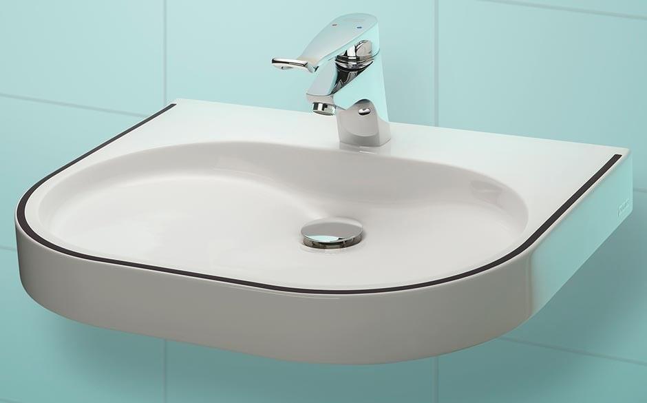 flache vorwandinstallation f r wc bidet und waschtisch bad und sanit r news produkte. Black Bedroom Furniture Sets. Home Design Ideas