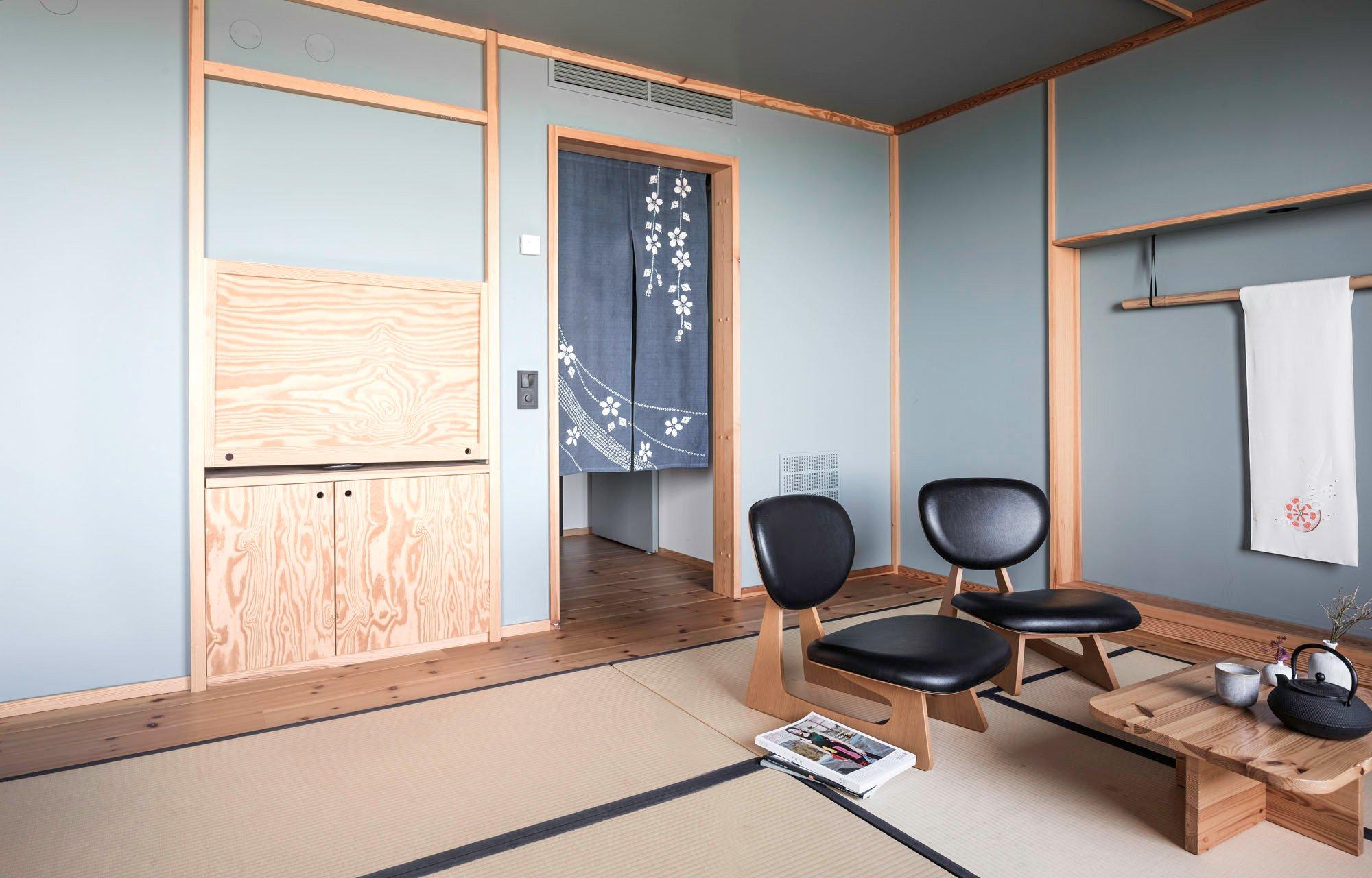 japanische einrichtung viele holzarte n asian garden by whipple russell architects japanische. Black Bedroom Furniture Sets. Home Design Ideas
