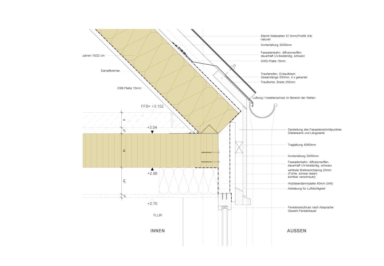wohnhaus in ottweiler geneigtes dach wohnen baunetz. Black Bedroom Furniture Sets. Home Design Ideas