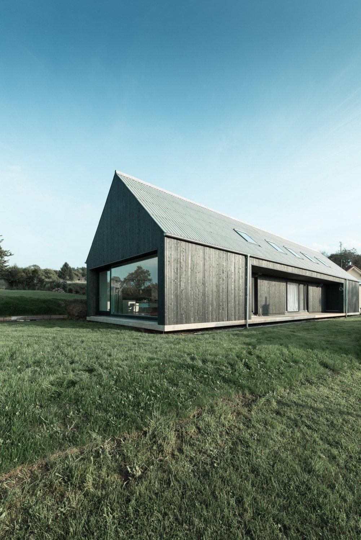 Architekten Kaiserslautern wohnhaus in ottweiler geneigtes dach wohnen baunetz wissen