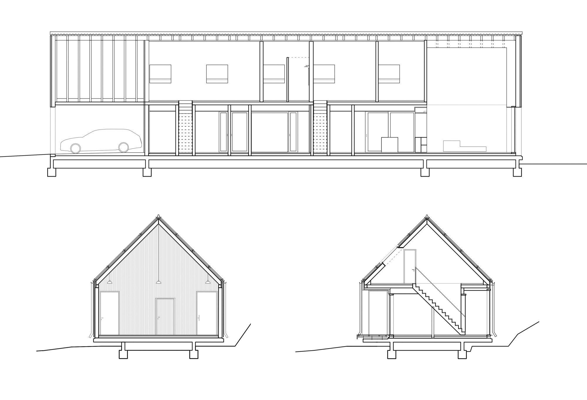 wohnhaus in ottweiler geneigtes dach wohnen baunetz wissen. Black Bedroom Furniture Sets. Home Design Ideas