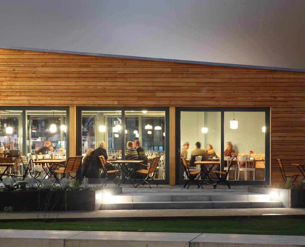 pavillon laube liebe hoffnung in frankfurt a m flachdach sonderbauten baunetz wissen. Black Bedroom Furniture Sets. Home Design Ideas