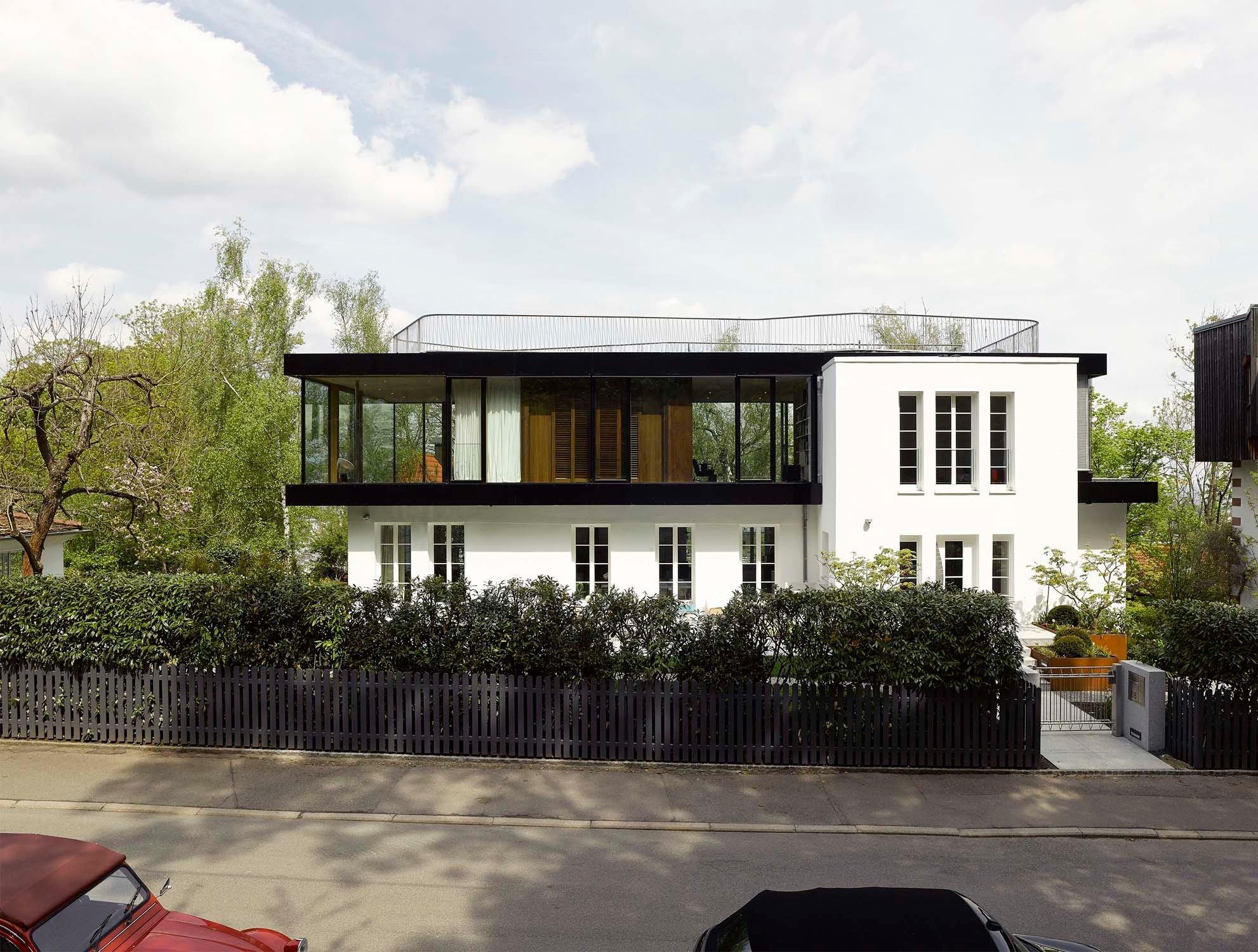 aufstockung haus s in stuttgart flachdach wohnen. Black Bedroom Furniture Sets. Home Design Ideas