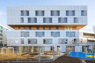 Das neue sozialmedizinische Zentrum im Pariser Süden beherbergt ein Pflege- und ein Altenheim sowie eine Kinderkrippe