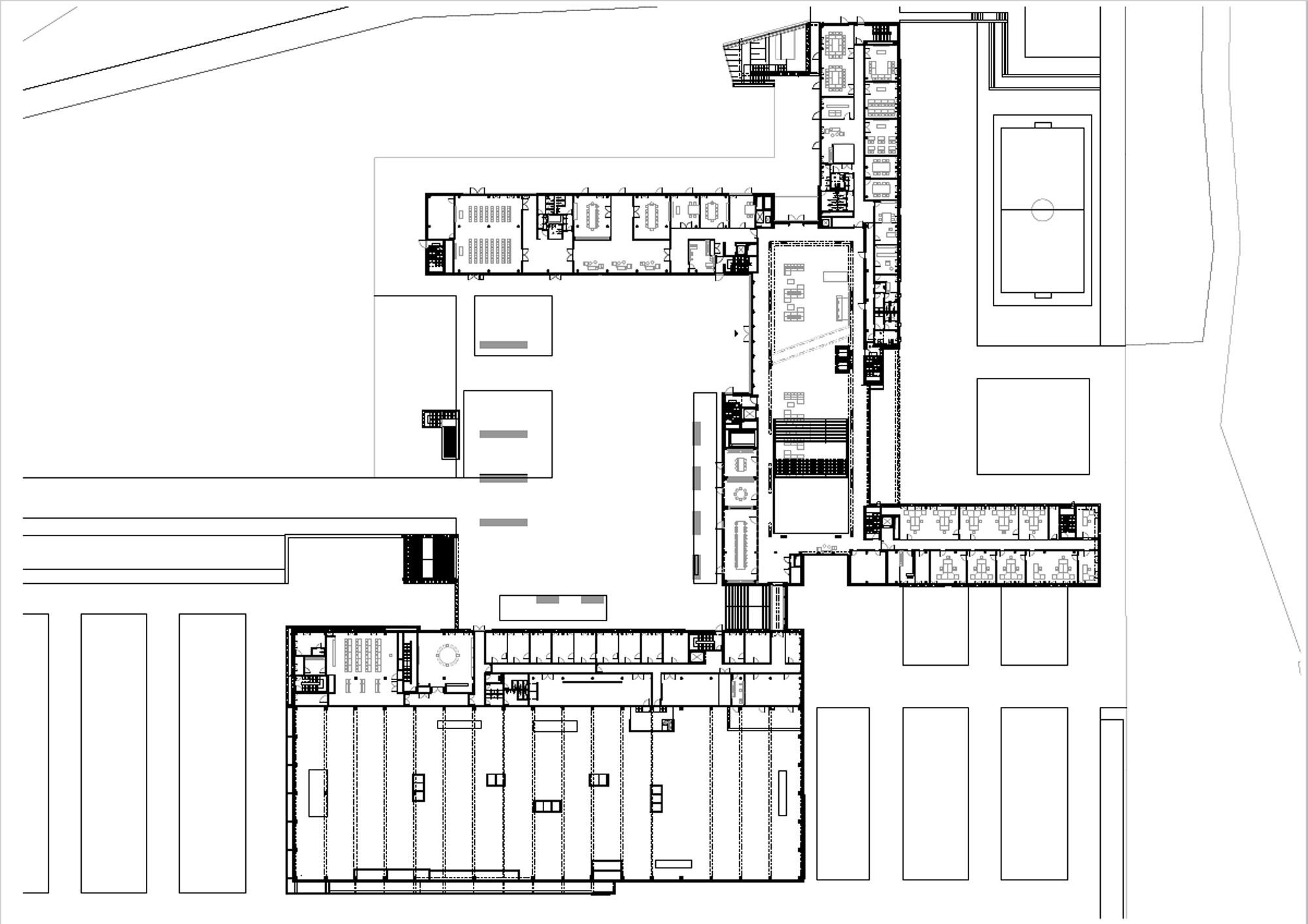 unternehmenscampus in biebergem nd heizung b ro. Black Bedroom Furniture Sets. Home Design Ideas