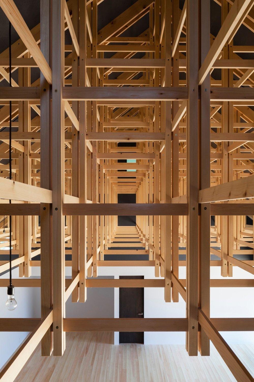 Bogenschießhalle und Boxclub in Tokio   Geneigtes Dach   Sport ...