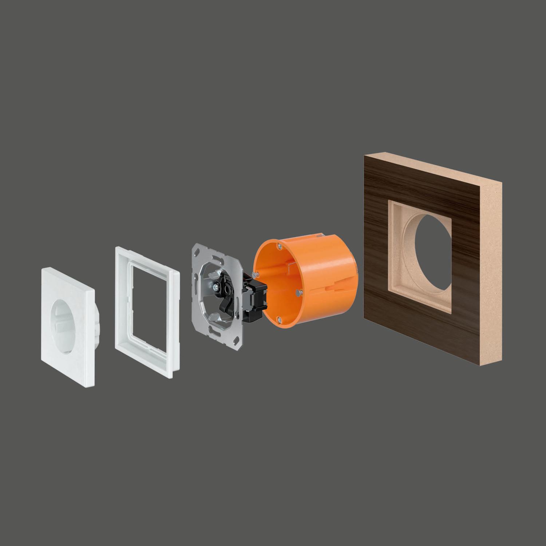 Top Schalter für den flächenbündigen Einbau | Elektro | News/Produkte KD46
