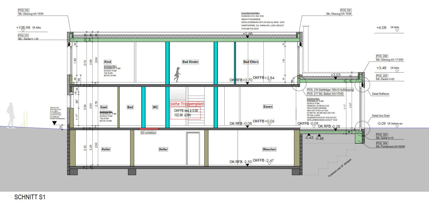 Wohnhausaufstockung in bochum bauphysik wohnen - Bsp architekten ...