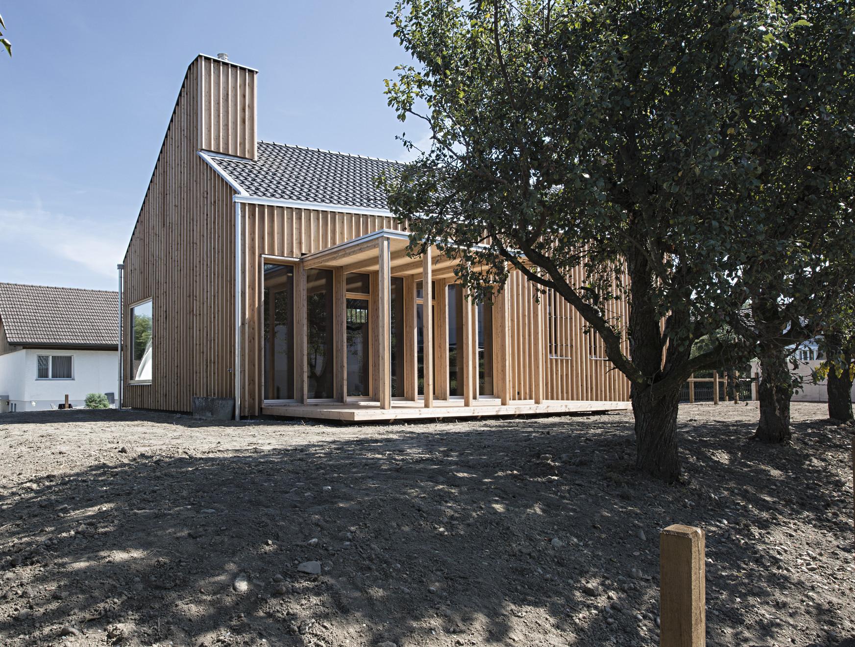 Wohnhaus am bodensee nachhaltig bauen wohnen baunetz for Wohnhaus bauen