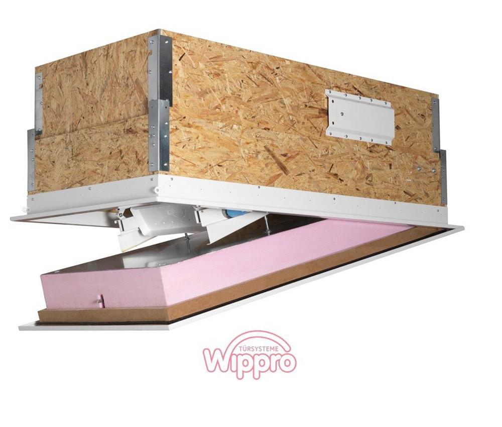 Gedammte Dachbodentreppe Geneigtes Dach News Produkte