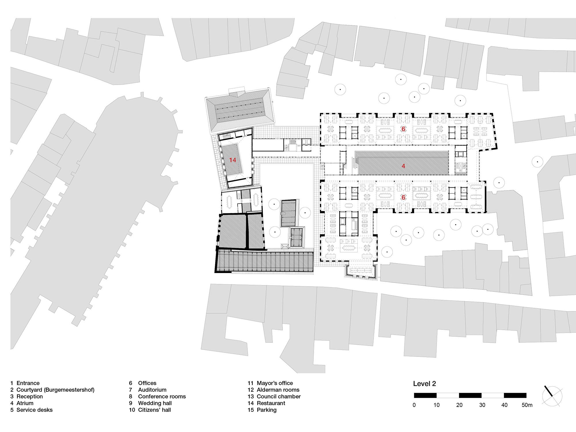 rathaus in deventer fassade b ro verwaltung baunetz. Black Bedroom Furniture Sets. Home Design Ideas