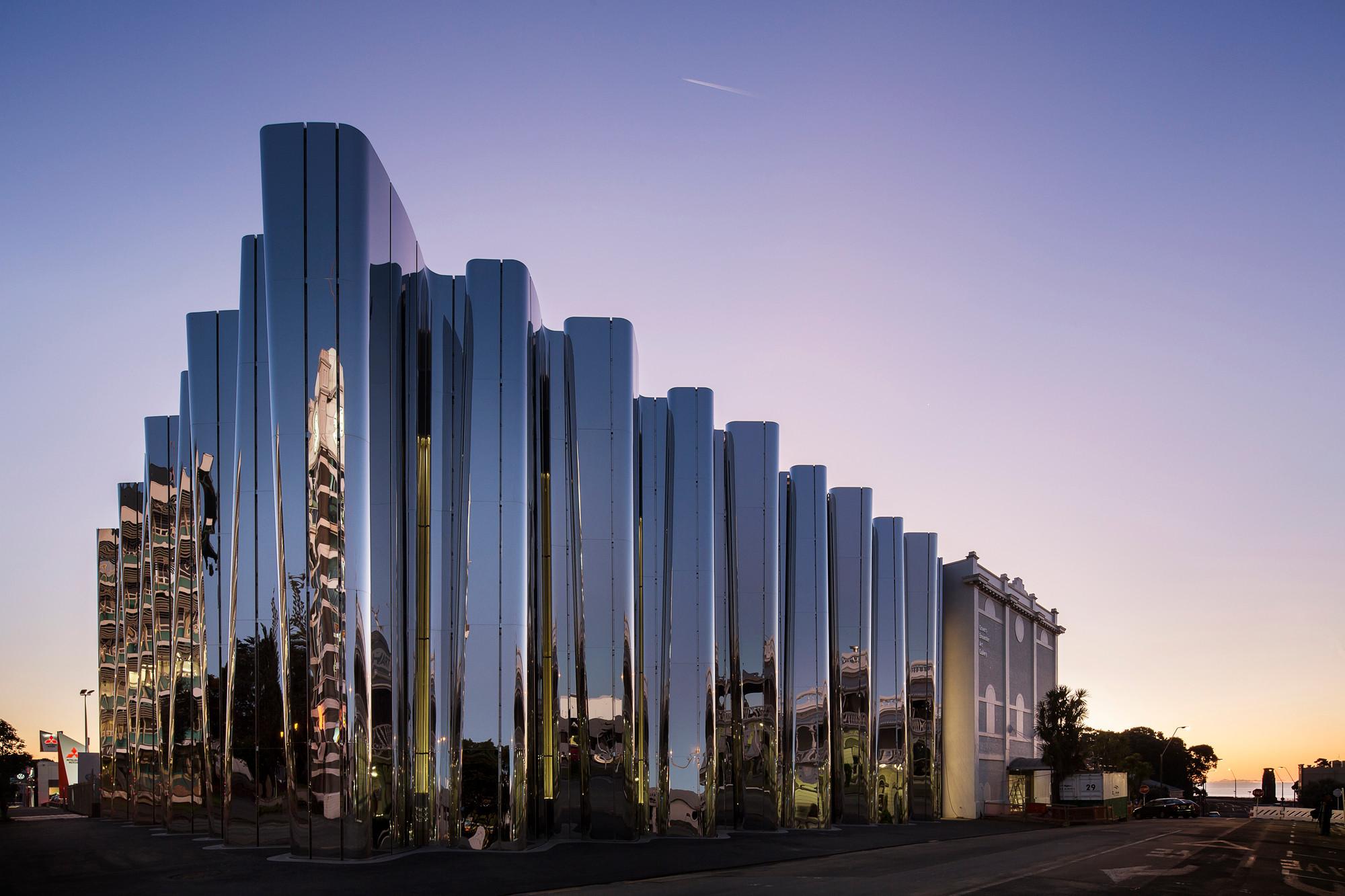 Len Für Hohe Decken len lye centre in plymouth beton kultur baunetz wissen