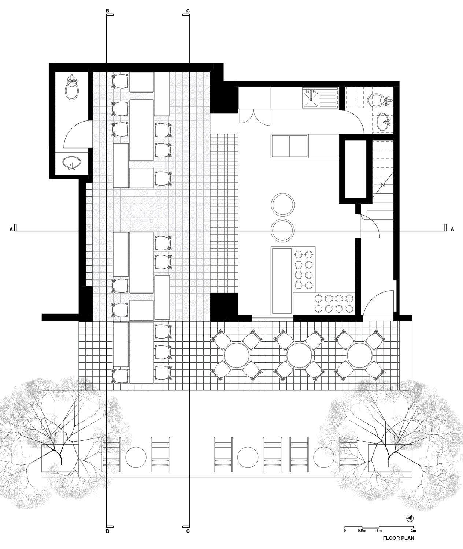 cafe el moro in mexiko stadt fliesen und platten hotel gastronomie baunetz wissen. Black Bedroom Furniture Sets. Home Design Ideas