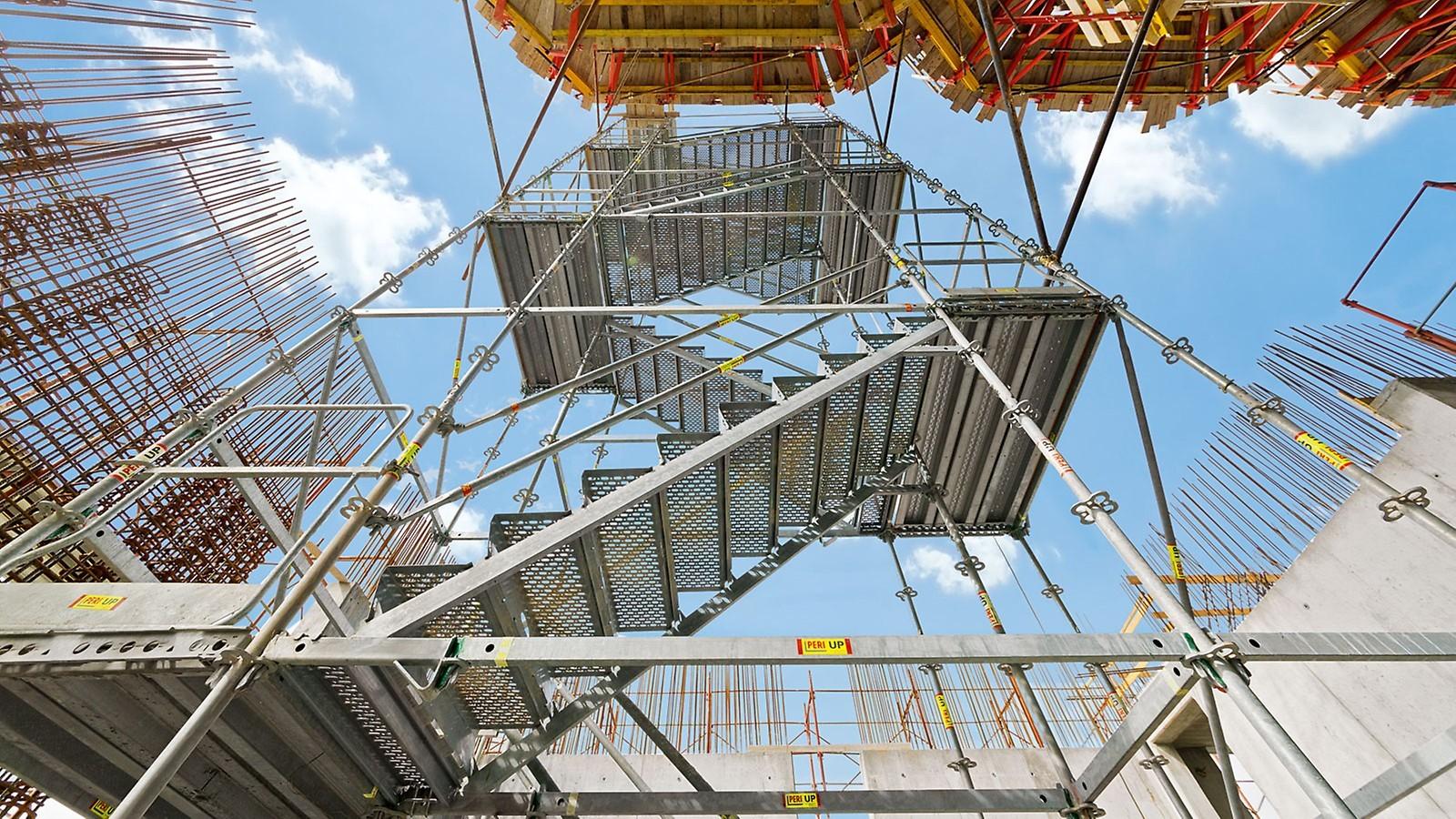 Zugänge und Treppen für Gerüste | Gerüste und Schalungen ...