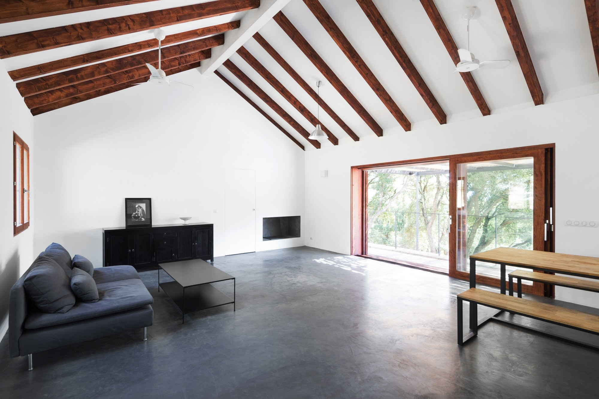 ferienhaus contemporary vernacular in conca bad und. Black Bedroom Furniture Sets. Home Design Ideas