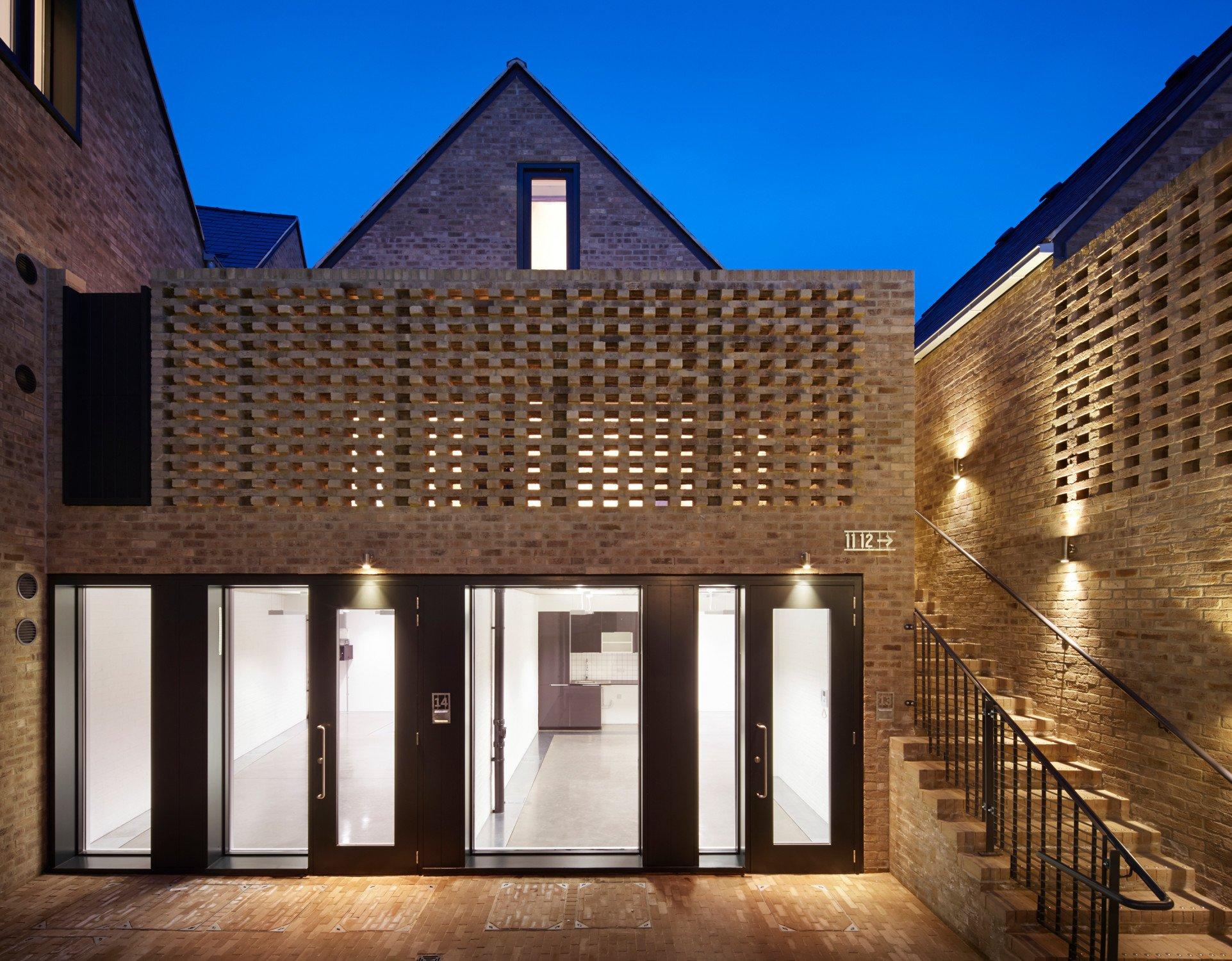 Wohn- und Studioensemble Foundry Mews in London | Mauerwerk | Wohnen ...