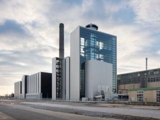 Das Kraftwerk Lausward in Düsseldorf erhielt mit dem Block Fortuna einen weiteren Baustein, der mittels Erdgas Strom und Fernwärme erzeugt