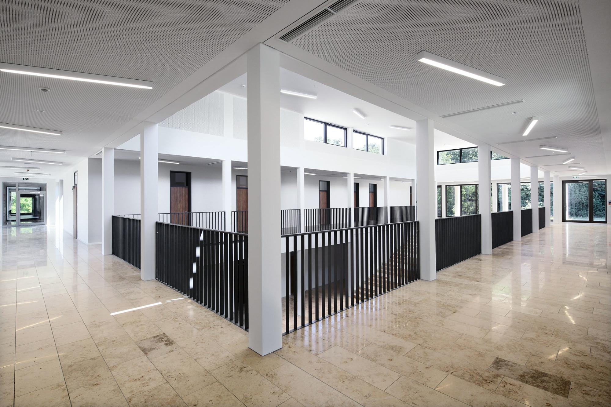 Erweiterung Der Sophie Scholl Schule In Giessen Mauerwerk Bildung
