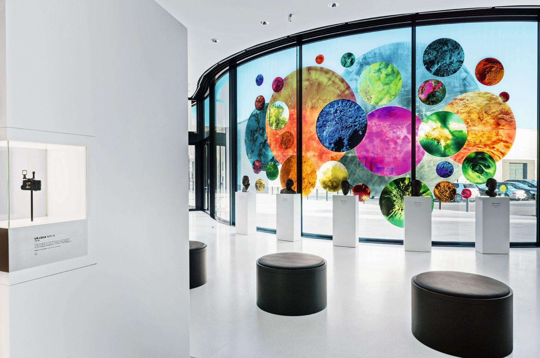 glasinstallation kreiswerk in wetzlar glas news produkte baunetz wissen. Black Bedroom Furniture Sets. Home Design Ideas
