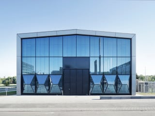 Die ETA-Fabrik ist ein Forschungsprojekt an der TU Darmstadt, um übergreifende Ansätze zur Senkung des Energiebedarfs zu untersuchen