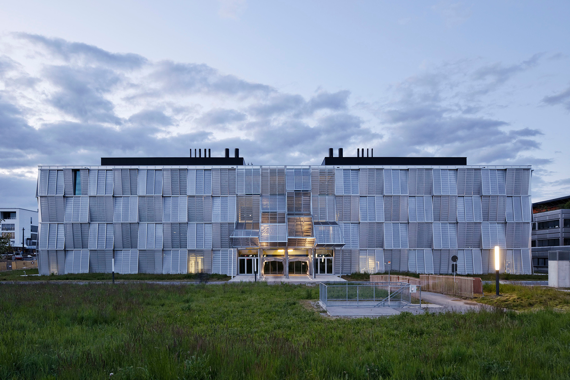 Universitätsgebäude für Maschinenbau in Lausanne   Fassade   Kultur ...