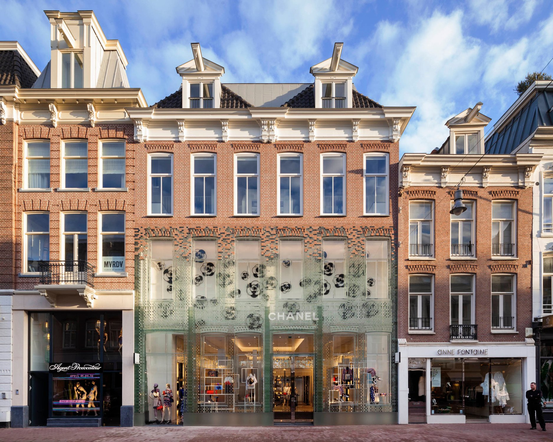 Kelder Van Rasmus : Crystal houses in amsterdam glas sonderbauten baunetz wissen