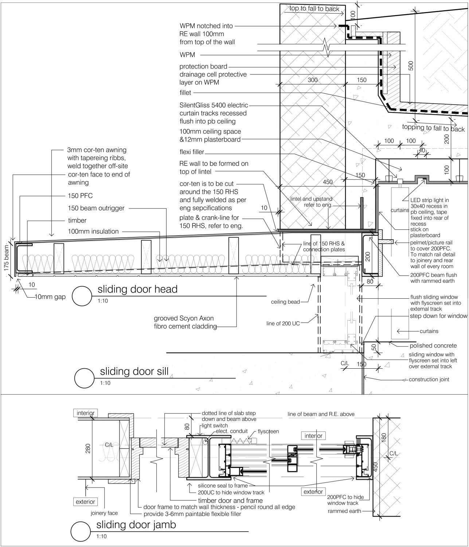 Holzbau flachdach detail  Apartments The Great Wall in Western Australia | Flachdach ...