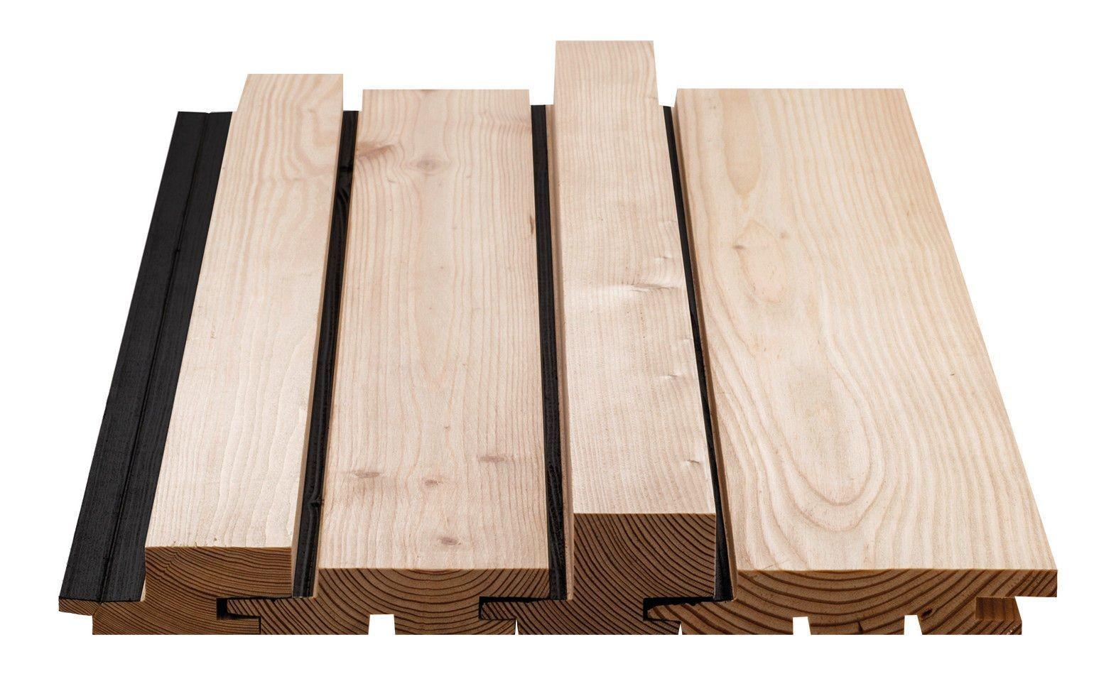 fassadensystem aus l rchen profilbrettern fassade news produkte baunetz wissen. Black Bedroom Furniture Sets. Home Design Ideas