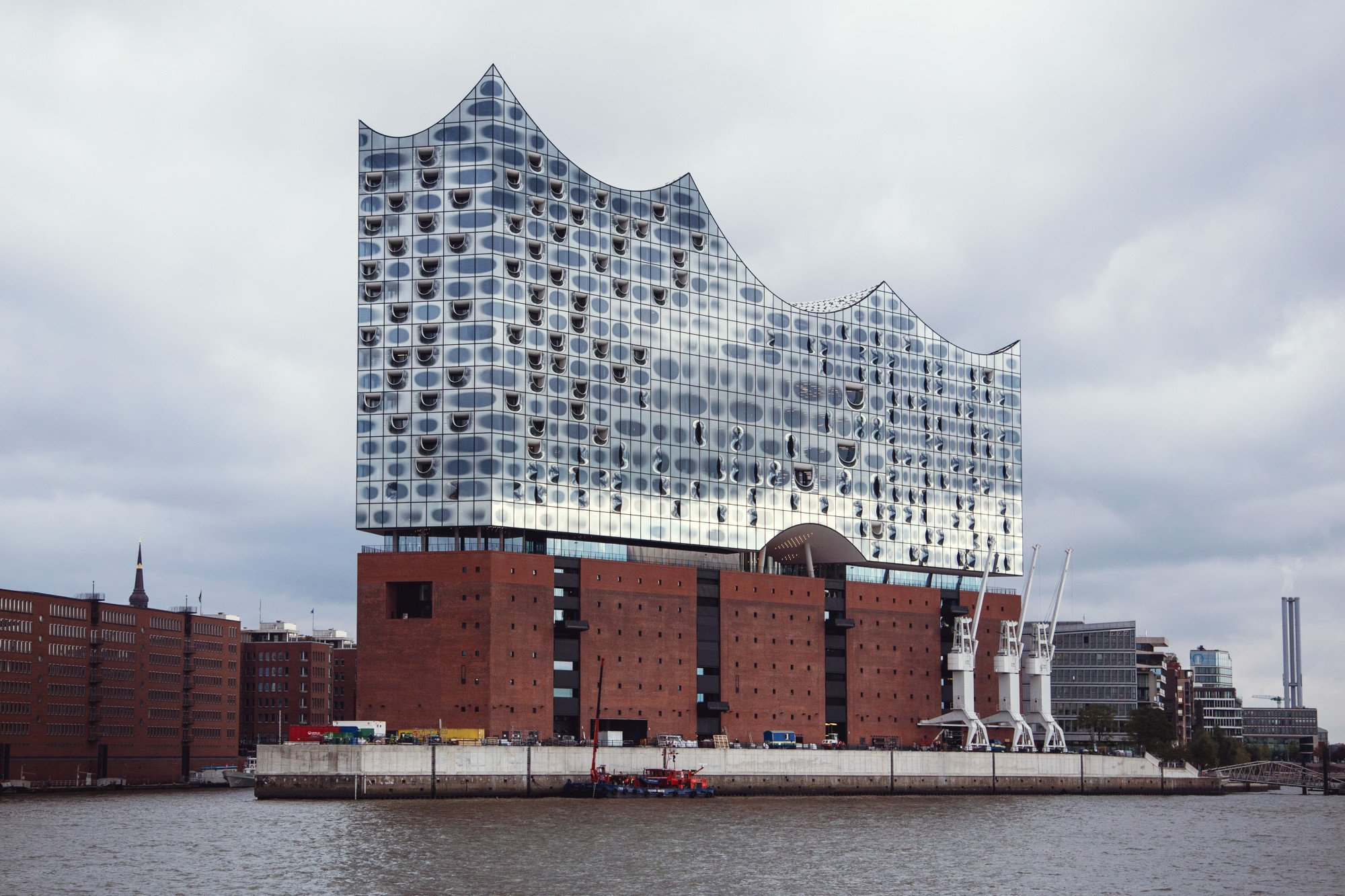 Elbphilharmonie In Hamburg Glas Kultur Baunetz Wissen