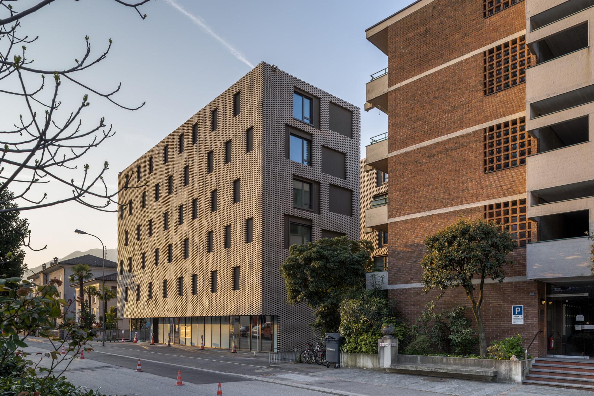 Wohnensemble le stelle di locarno mauerwerk wohnen mfh - Skelettbau architektur ...