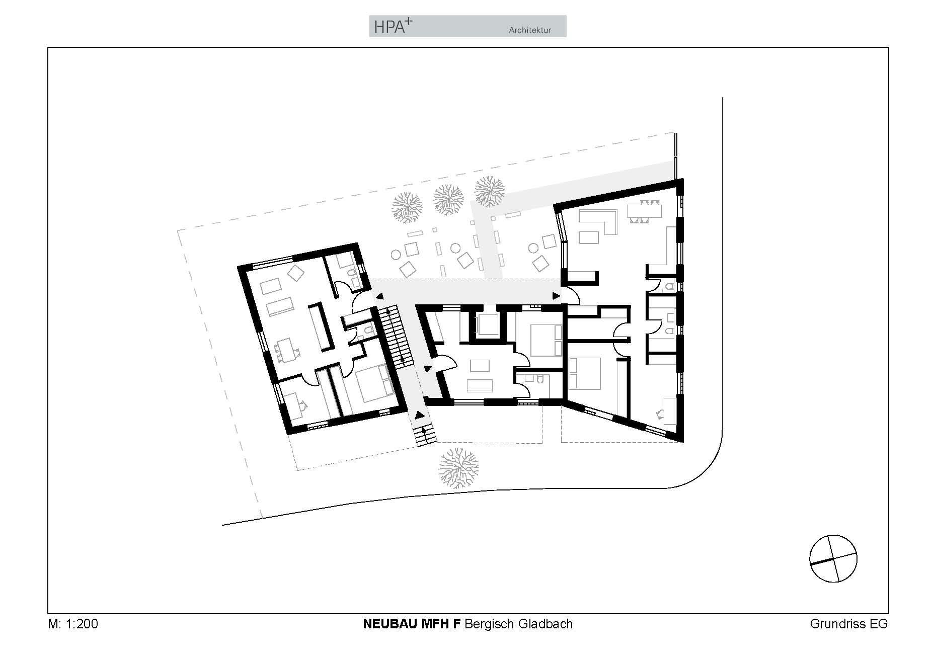 mehrgenerationenhaus in bergisch gladbach mauerwerk wohnen mfh baunetz wissen. Black Bedroom Furniture Sets. Home Design Ideas