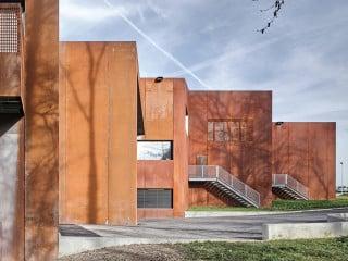 Der Neubau des Schweizer Filmarchivs vereint die verstreut gelagert gewesenen Sammlungsbestände nun an einem Ort