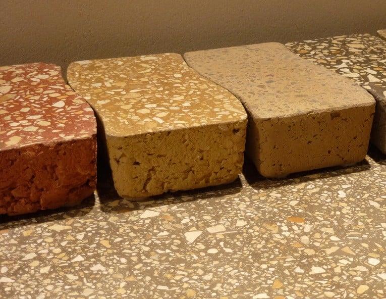 Fußboden Aus Lehm ~ Lehm terrazzoboden in verschiedenen farben nachhaltig bauen news