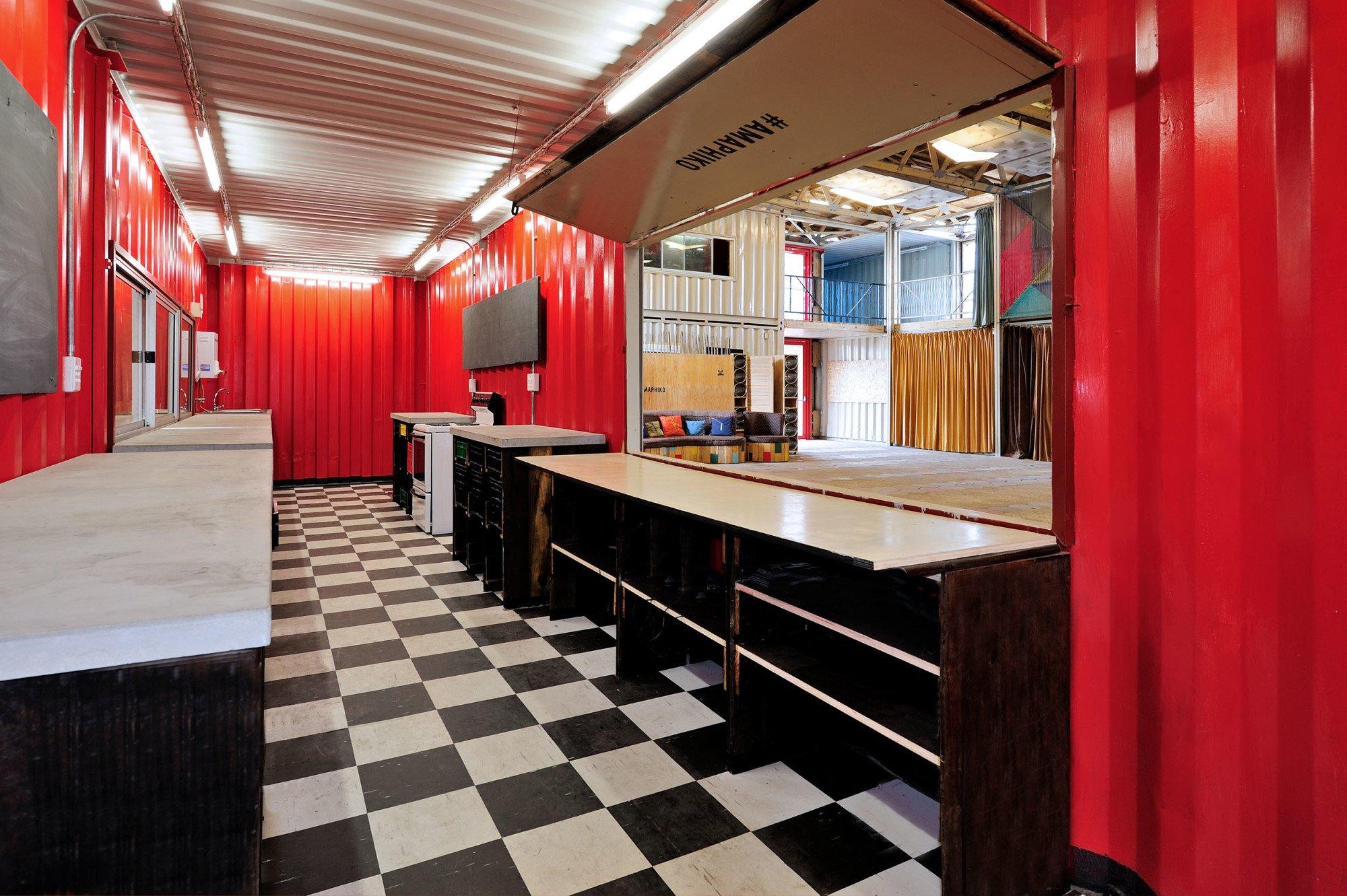 Guga S\'Thebe Children\'s Theatre in Kapstadt | Nachhaltig Bauen ...