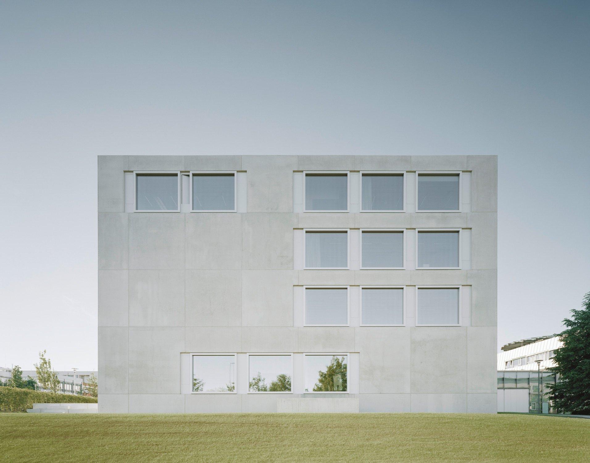 Erweiterung der hochschule der medien in stuttgart beton for Fh stuttgart architektur