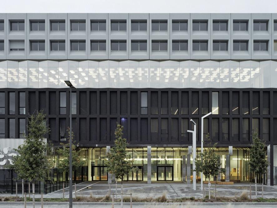 edf campus in paris saclay beton bildung baunetz wissen. Black Bedroom Furniture Sets. Home Design Ideas