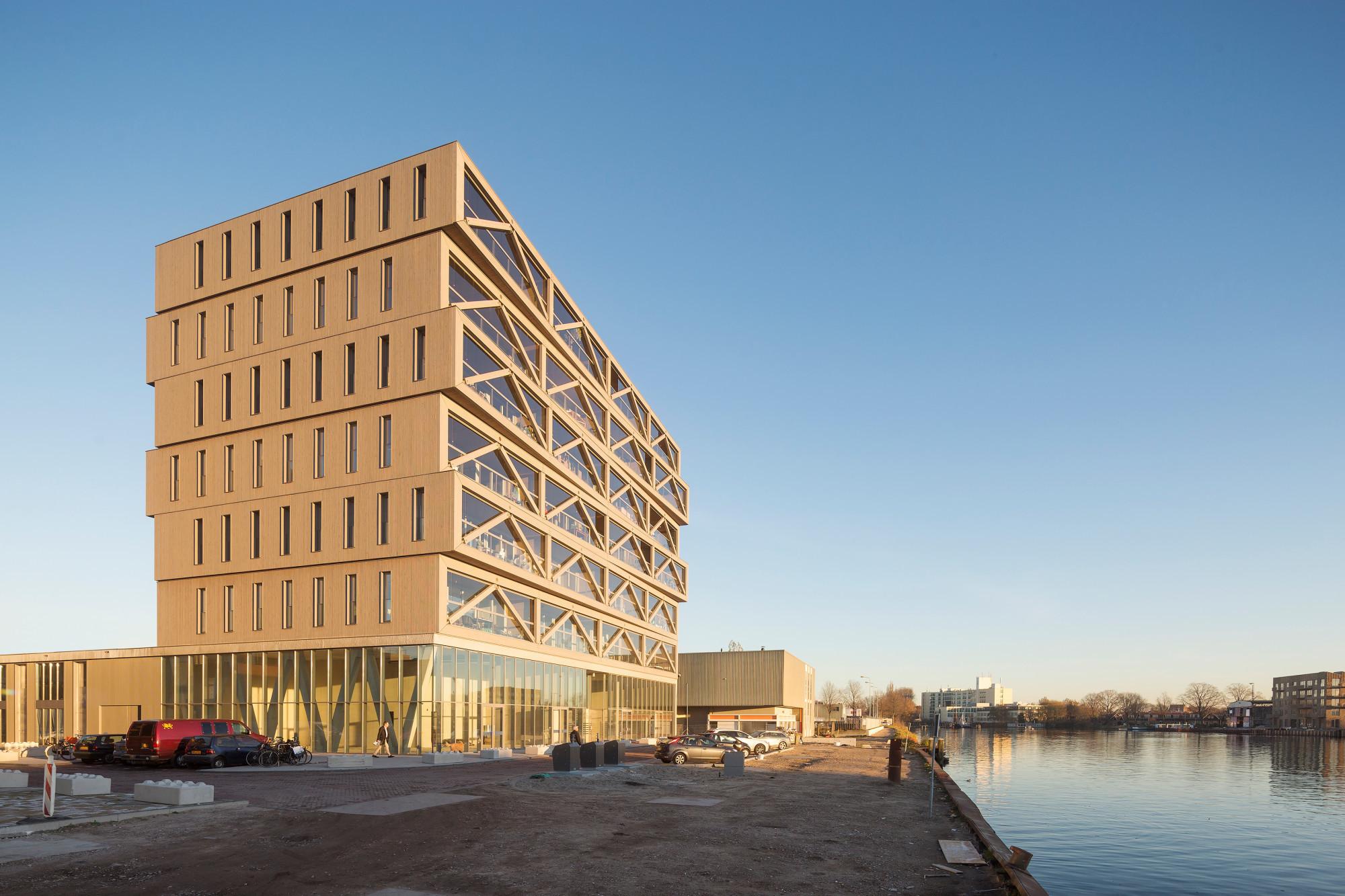 Architektur Amsterdam wohnhochhaus patch 22 in amsterdam heizung wohnen baunetz wissen