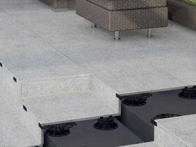 Stelz Und Plattenlager Fur Den Terrassenbau Fliesen Und Platten