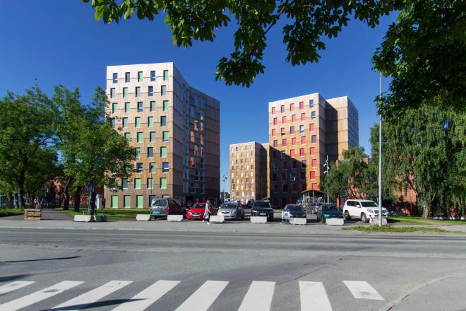 Studentenwohnheim In Trondheim Dämmstoffe Wohnen
