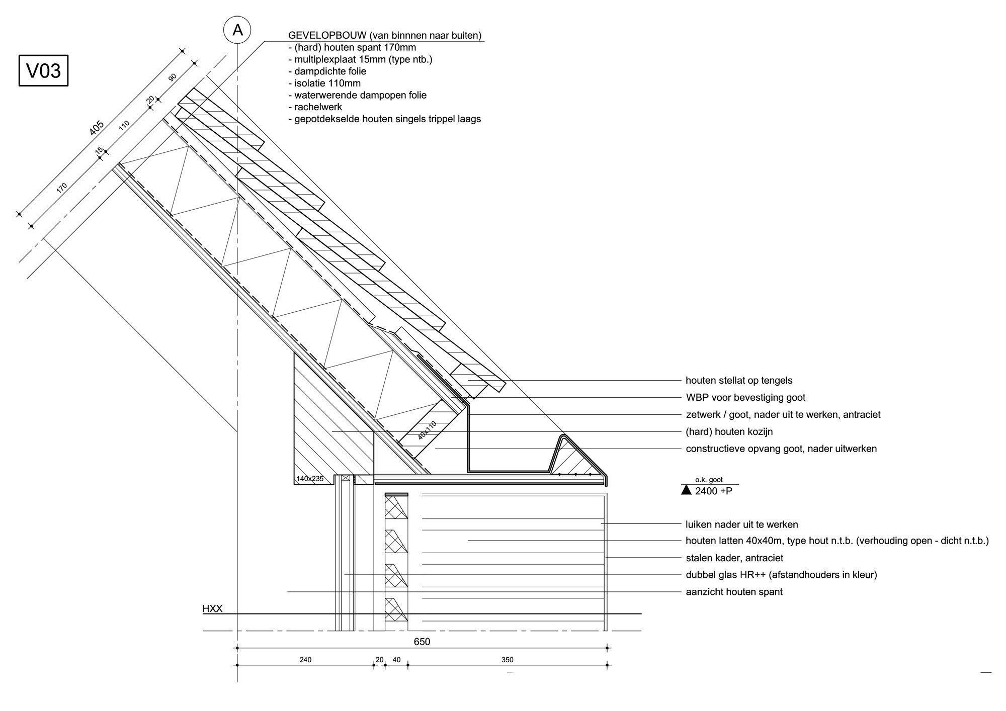 ferienhaus bei utrecht geneigtes dach wohnen baunetz wissen. Black Bedroom Furniture Sets. Home Design Ideas