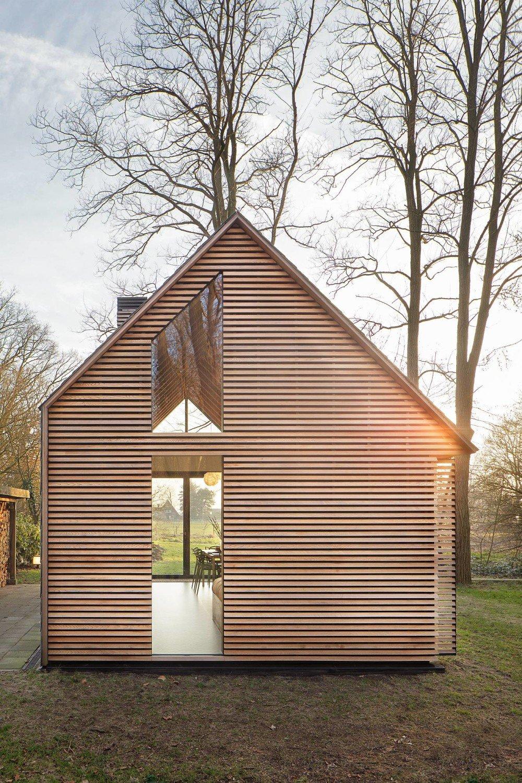 Ferienhaus bei utrecht geneigtes dach wohnen baunetz - Ferienhaus architektur ...
