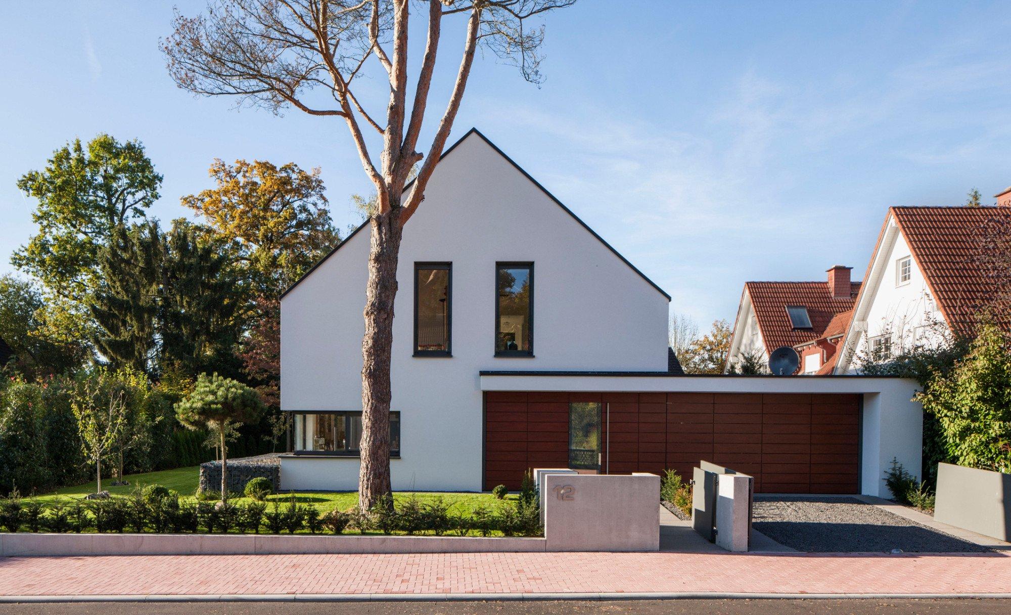 Wohnhaus in bad homburg gesund bauen wohnen baunetz for Wohnhaus bauen