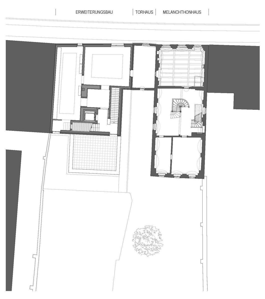 erweiterung melanchthonhaus in wittenberg mauerwerk kultur baunetz wissen. Black Bedroom Furniture Sets. Home Design Ideas