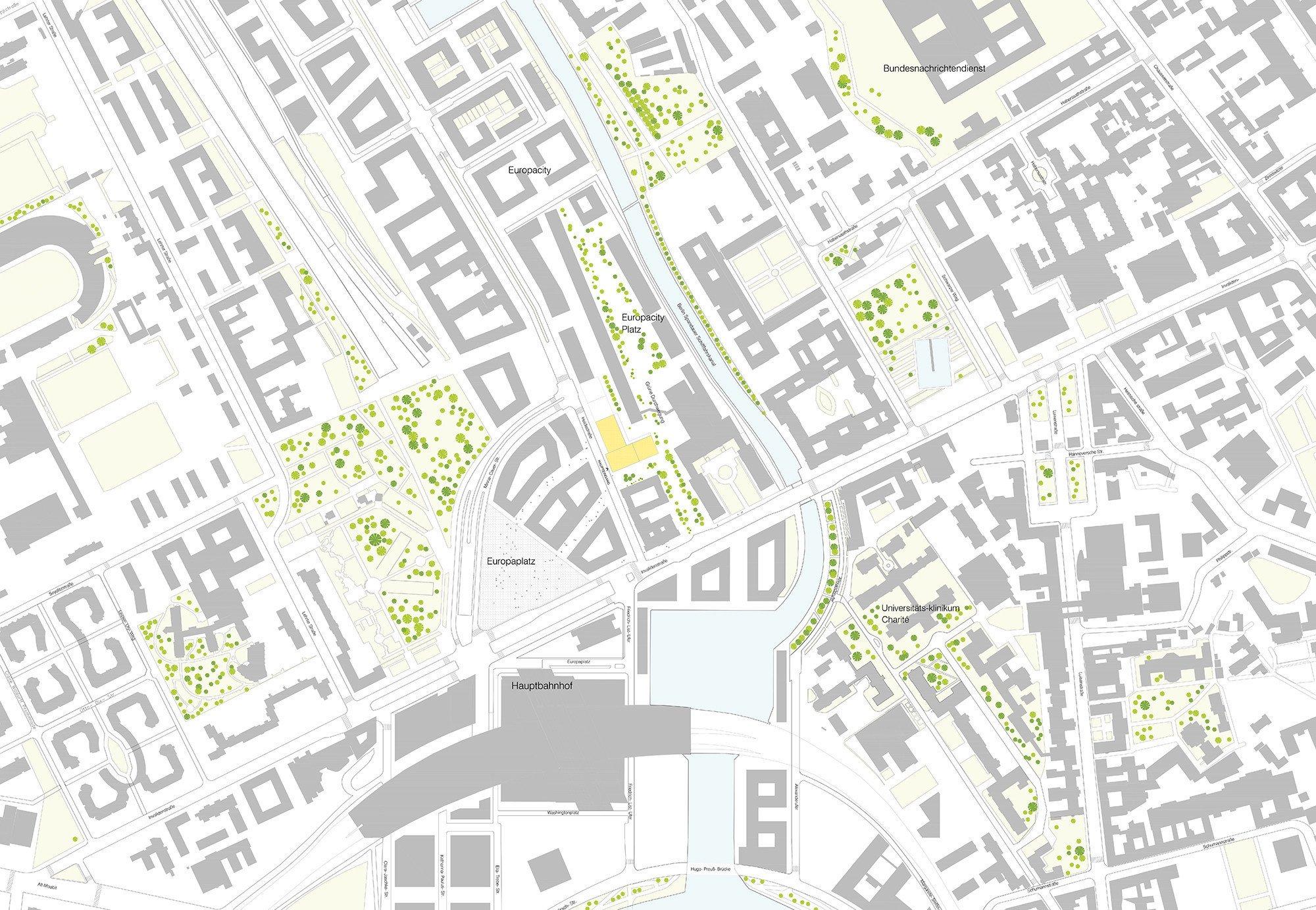 Unternehmenszentrale 50hertz in berlin geb udetechnik for Site plan rendering software