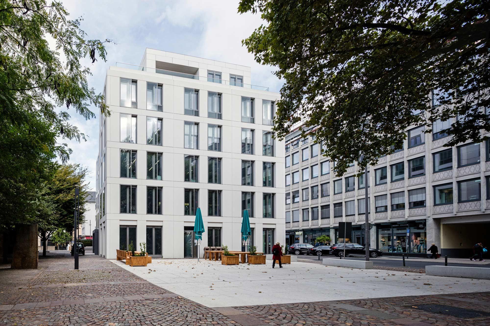 Stammhaus des wdr in k ln glas b ro verwaltung baunetz wissen - Architekturburo bochum ...