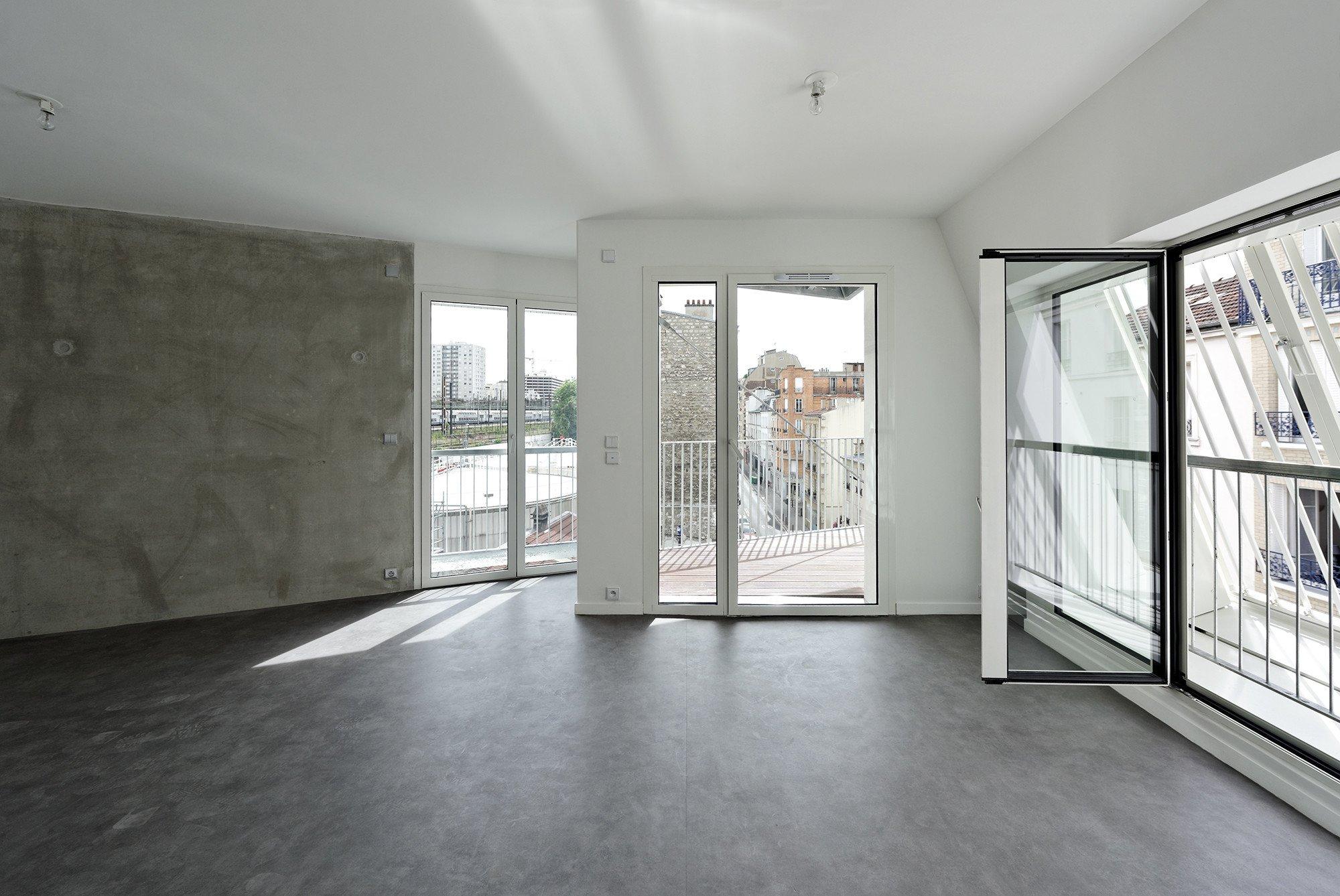 Sozialer Wohnungsbau in Paris | Fassade | Wohnen | Baunetz_Wissen