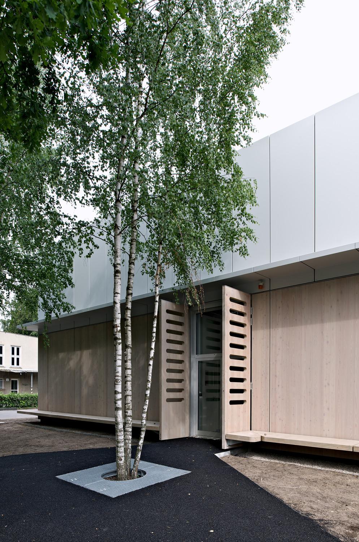 biobank in berlin geb udetechnik kultur bildung baunetz wissen. Black Bedroom Furniture Sets. Home Design Ideas