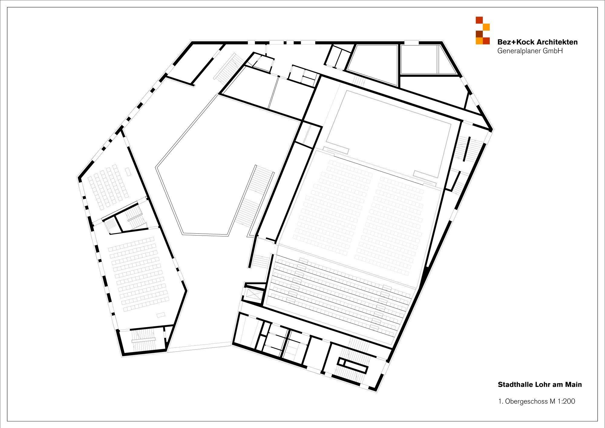 stadthalle in lohr am main mauerwerk kultur baunetz wissen. Black Bedroom Furniture Sets. Home Design Ideas